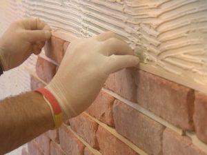 making a wall